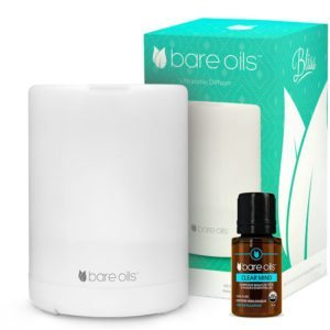 Huile essentielle Bare Oils Clear Mind & diffuseur Bliss