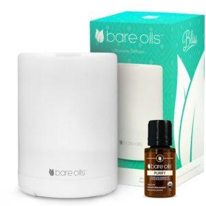Huile essentielle Bare Oils Purify & diffuseur Bliss